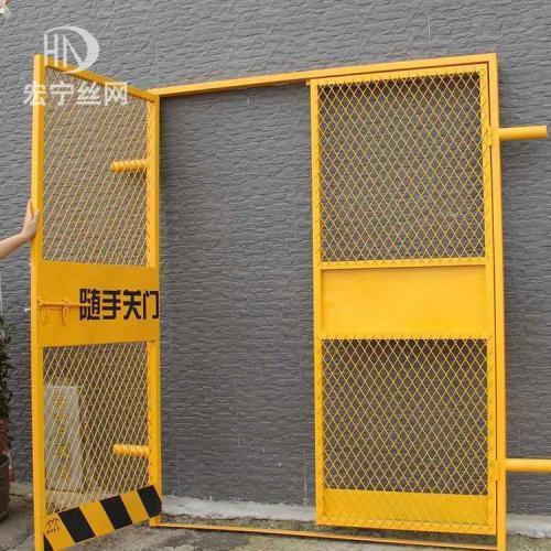 建筑工地电梯防护门